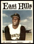 1966 East Hills Shopping Center #21  Roberto Clemente  Front Thumbnail