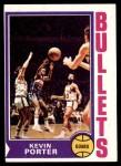1974 Topps #12  Kevin Porter  Front Thumbnail
