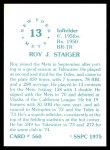 1976 SSPC #560  Roy Staiger  Back Thumbnail