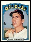 1972 Topps #680  Davey Johnson  Front Thumbnail