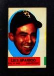 1963 Topps Peel-Offs  Luis Aparicio  Front Thumbnail
