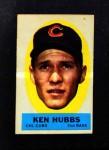 1963 Topps Peel-Offs  Ken Hubbs  Front Thumbnail