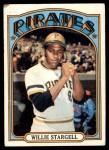 1972 Topps #447  Willie Stargell  Front Thumbnail
