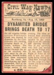 1965 A & BC England Civil War News #29   Bridge of Doom Back Thumbnail