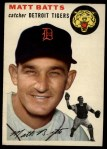 1954 Topps #88  Matt Batts  Front Thumbnail