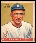 1934 World Wide Gum #31  Sam Jones  Front Thumbnail