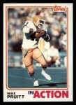 1982 Topps #71   -  Mike Pruitt In Action Front Thumbnail