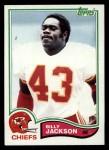 1982 Topps #118  Billy Jackson  Front Thumbnail