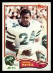 1982 Topps #176  Freeman McNeil  Front Thumbnail