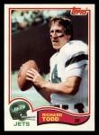 1982 Topps #181  Richard Todd  Front Thumbnail