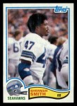 1982 Topps #252  Sherman Smith  Front Thumbnail