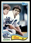 1982 Topps #255  Jim Zorn  Front Thumbnail