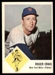 1963 Fleer #47  Roger Craig  Front Thumbnail