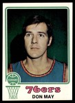 1973 Topps #131  Don May  Front Thumbnail