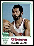 1973 Topps #74  Manny Leaks  Front Thumbnail