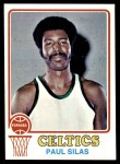 1973 Topps #112  Paul Silas  Front Thumbnail