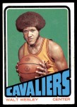 1972 Topps #109  Walt Wesley   Front Thumbnail