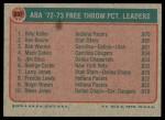 1973 Topps #237  Keller / Boone / Warren  Back Thumbnail