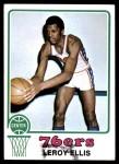 1973 Topps #34  Leroy Ellis  Front Thumbnail