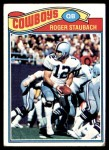 1977 Topps #45  Roger Staubach  Front Thumbnail