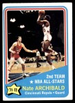 1972 Topps #169   -  Nate Archibald  NBA All-Star - 2nd Team Front Thumbnail