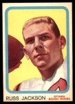 1963 Topps CFL #50  Russ Jackson  Front Thumbnail