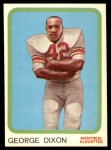 1963 Topps CFL #40  George Dixon  Front Thumbnail