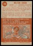 1963 Topps CFL #46  Milt Crain  Back Thumbnail