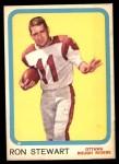 1963 Topps CFL #51  Ron Stewart  Front Thumbnail