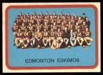 1963 Topps CFL #29   Edmonton Eskimos Front Thumbnail