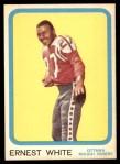 1963 Topps CFL #57  Ernie White  Front Thumbnail