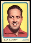 1963 Topps CFL #48  Ted Elsby  Front Thumbnail