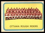 1963 Topps CFL #58   Ottawa Rough Riders Front Thumbnail