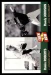 2002 Topps Heritage Then & Now #9 TN Robin Roberts / Randy Johnson  Front Thumbnail