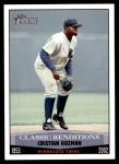 2002 Topps Heritage Classic Renditions #7 CR Cristian Guzman  Front Thumbnail