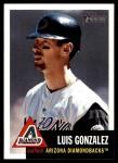 2002 Topps Heritage #393  Luis Gonzalez  Front Thumbnail