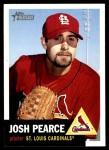 2002 Topps Heritage #418  Josh Pearce  Front Thumbnail