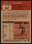 2002 Topps Heritage #367  Nick Bierbrodt  Back Thumbnail