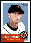 2002 Topps Heritage #404  Josh Towers  Front Thumbnail