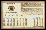 1970 Kellogg's #4  Bill Nelsen  Back Thumbnail