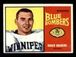1964 Topps CFL #82   -  Roger Hagberg   Front Thumbnail