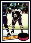 1980 Topps #64  Rocky Saganiuk  Front Thumbnail