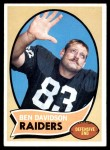 1970 Topps #251  Ben Davidson  Front Thumbnail