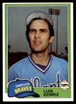1981 Topps #477  Luis Gomez  Front Thumbnail
