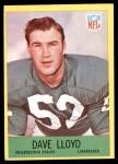 1967 Philadelphia #138  Dave Lloyd  Front Thumbnail