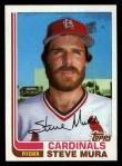 1982 Topps Traded #79 T Steve Mura  Front Thumbnail