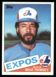1985 Topps #62  Mike Ramsey  Front Thumbnail