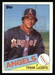 1985 Topps #153  Frank LaCorte  Front Thumbnail