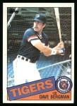 1985 Topps #368  Dave Bergman  Front Thumbnail