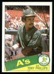 1985 Topps #444  Tony Phillips  Front Thumbnail